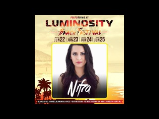 Nifra @ Luminosity Beach Festival 23-06-2017