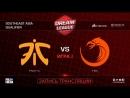 Dota2RuHub Fnatic vs TNC DreamLeague SEA Qualifier game 3 Mortalles Autodestruction