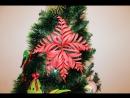 как сделать красивую снежинку из бумаги обзор видео 6