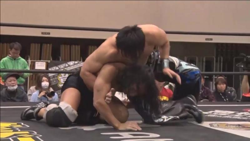 HARASHIMA vs. Masahiro Takanashi (DDT - D-Ou Grand Prix 2018 In Shimizu - Day 6)