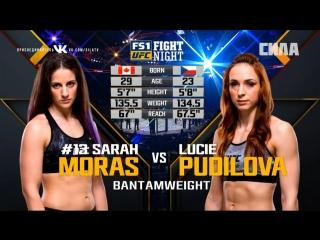 FIGHT NIGHT AUSTIN Sarah Moras vs Lucie Pudilova