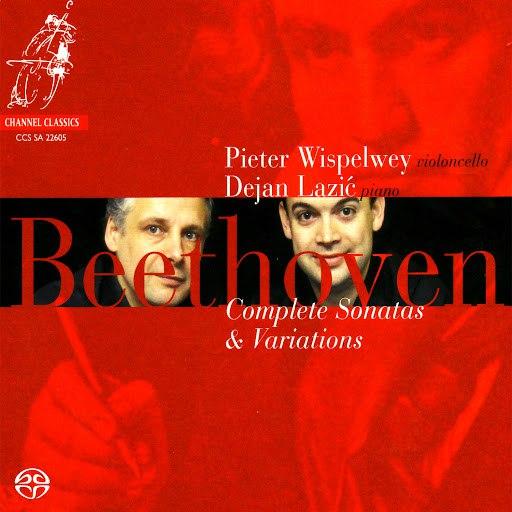 Pieter Wispelwey альбом Beethoven: Complete Sonatas & Variations