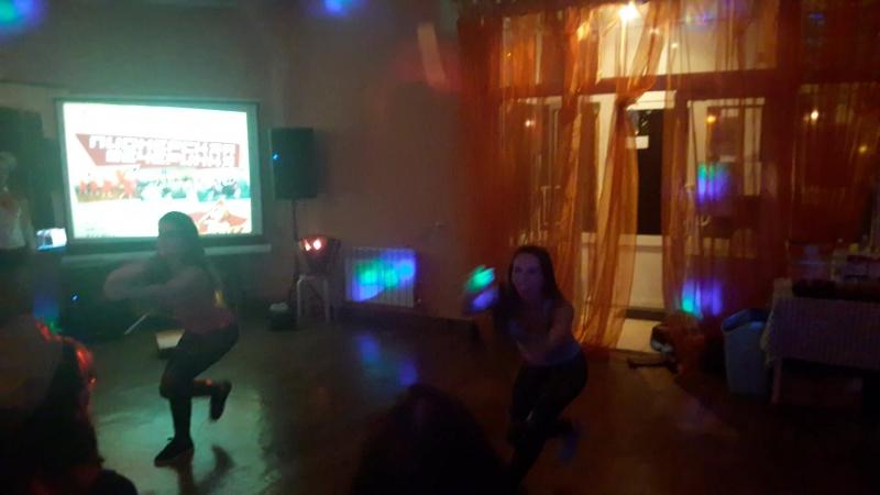 Dance club Amir. Julia Demyanenko and Anastasia Nikitina. Street SHAABI. Choreography By Osama Mimi