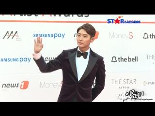 [S영상] 2017 AAA 돌아온 이승기, 이준기-남궁민-박해진-류준열 등 초특급 남배우들