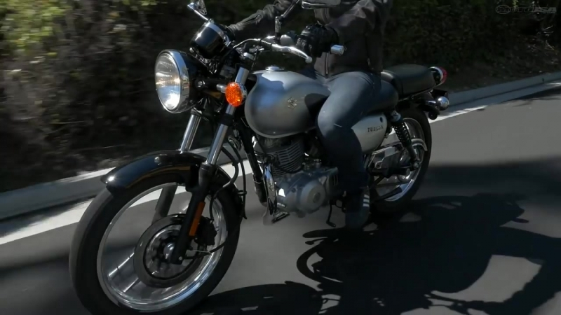 2015 Suzuki TU250X - Classic Bike Shootout Part 2 - MotoUSA