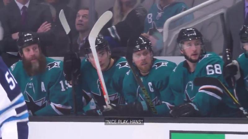 San-Jose Sharks Mic'd Up: Captain Joe Pavelski.