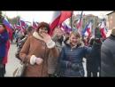 группа Градусы на митинге-концерте в г. Севастополе в честь 4 годовщины воссоединения Крыма с Россиией