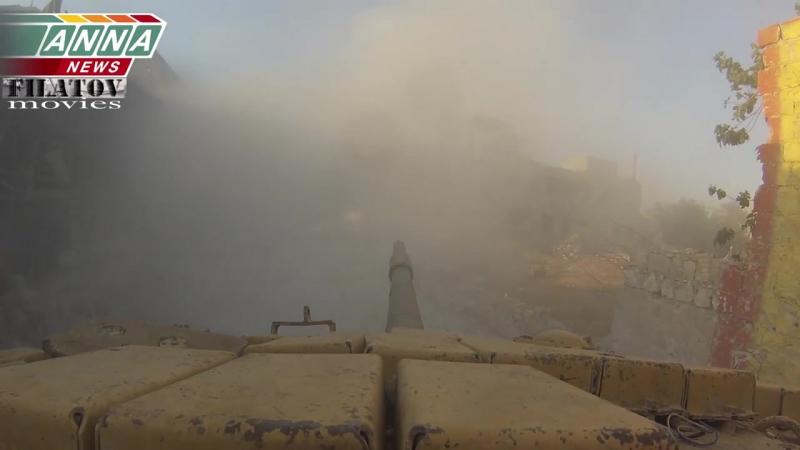 Syria. Джобар. Мощная атака с восточного направления