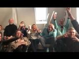 Съемочная команда мультфильма Ван Гог. С любовью, Винсент следит за объявлением номинантов на премию Оскар