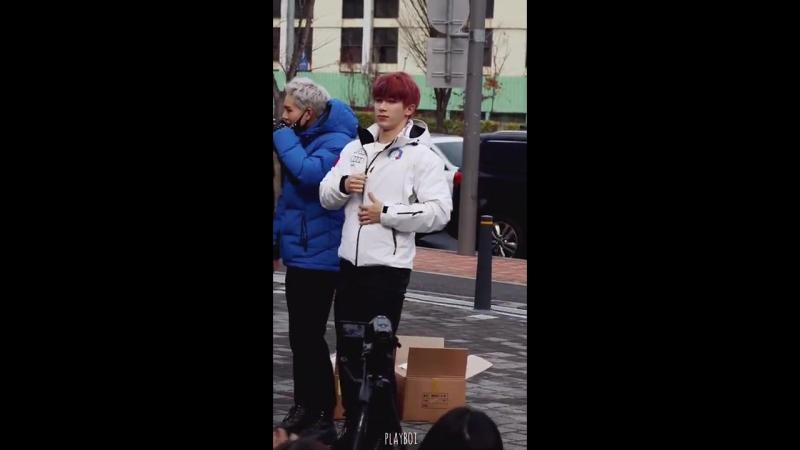 [VK][171125] MONSTA X (Wonho focus) @ Music Core mini fanmeeting