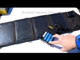 Солнечная Батарея для Зарядки Телефонов и Гаджетов Solar Power SM-5,5_12 14W
