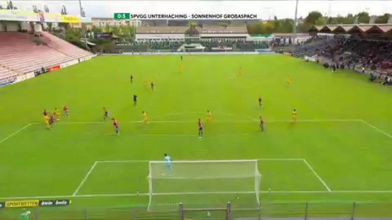 Highlights SpVgg Unterhaching vs. SG Sonnenhof Großaspach