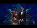 Люпита Нионго и Кумэйл Нанджиани на сцене премии Оскар 2018