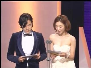 JKS - MC на награждении кино-премией от MBC 2009г