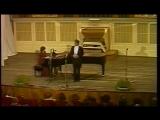 Хворостовский «Ах ты, душечка» _ Hvorostovsky Russian folk song «Ah ty dushechka» 1991