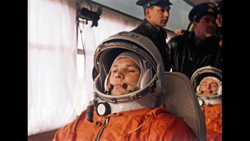 Человек вернулся-сов фильм о полете Гагарина 1961г