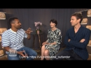 'Outlander' Stars Caitriona Balfe, Tobias Menzies On S3 | EXTENDED | rus_sub