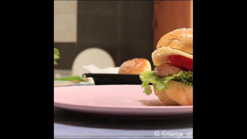 Вкусные домашние бургеры
