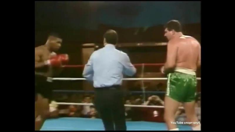 Бокс Майк Тайсон Майк Джеймсон ком Беленький Высоцкий Mike Tyson Mike J 17 бой