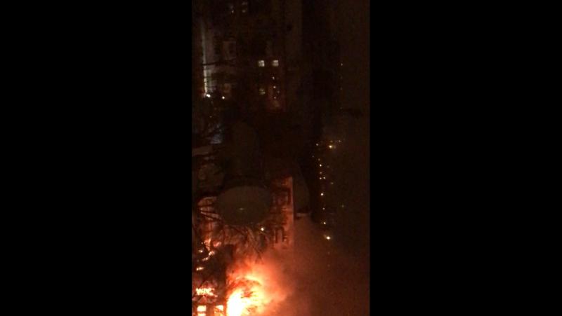 Пожар на 5 Динамовском