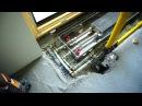 Внутрипольный конвектор доделка