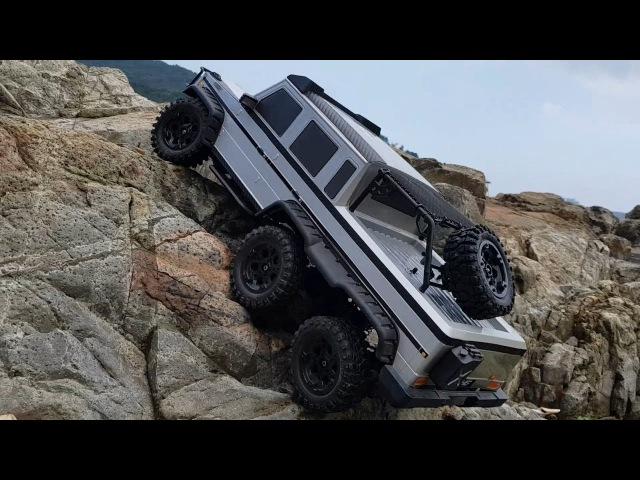Mecedes Bentz AMG G63 6x6 HG P601 Young island Rock Crawling
