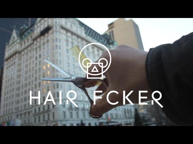 HairFucker Лайфхак парикмахера. Ножницы и расческа в одной руке.