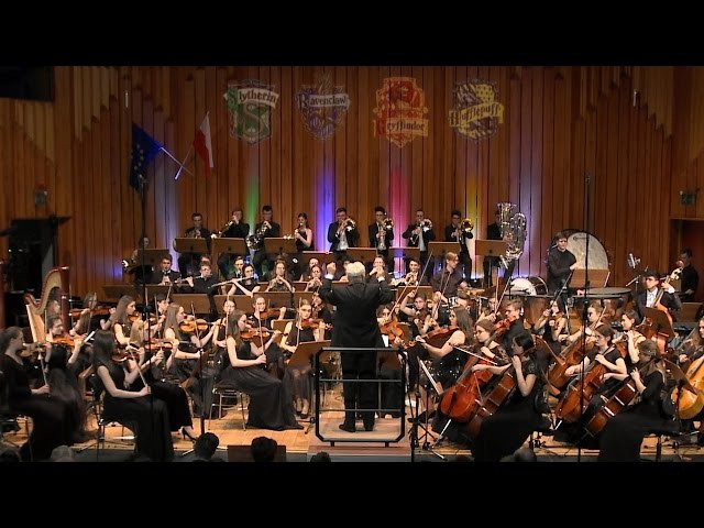 Hogwarts Symphony Orchestra plays Harry Potter ハリー・ポッターシリーズ Orchestral Medley Yule Ball Waltz