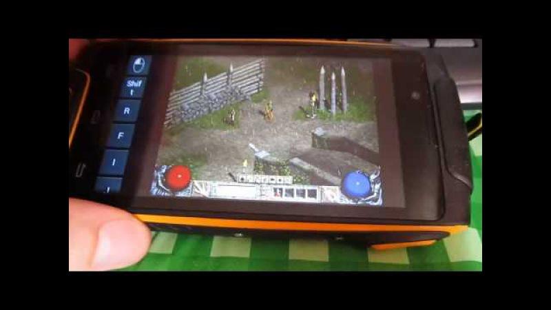 Запуск Diablo 2 на Android / ExaGear crack