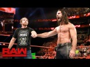 Seth Rollins and Dean Ambrose reunite Raw Aug 14 2017