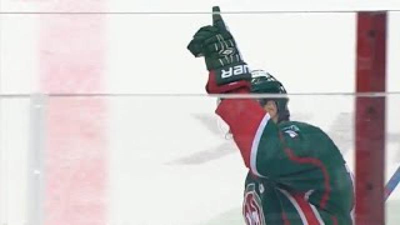 Svitov scores from huge setup, dedicates his goal to Cherepanov