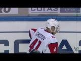 КХЛ (Континентальная хоккейная лига) - Моменты из матчей КХЛ сезона 16/17 - Удаление. Саболич Роберт