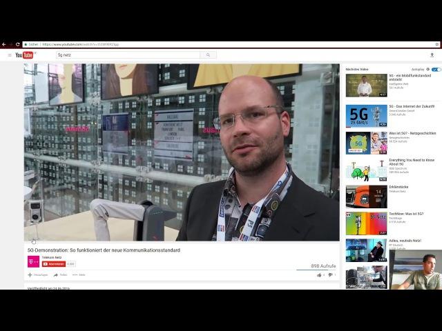 5G Internet Netz ist tödliche Strahlung und totale Überwachung