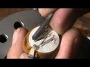 Colgante de Plata Grabada a mano con Buril Letra M.mpg