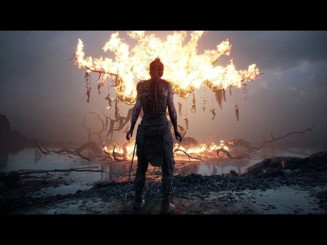 Hellblade: Senua's Sacrifice - Final Boss song (Passarella Death Squad - Just Like Sleep)