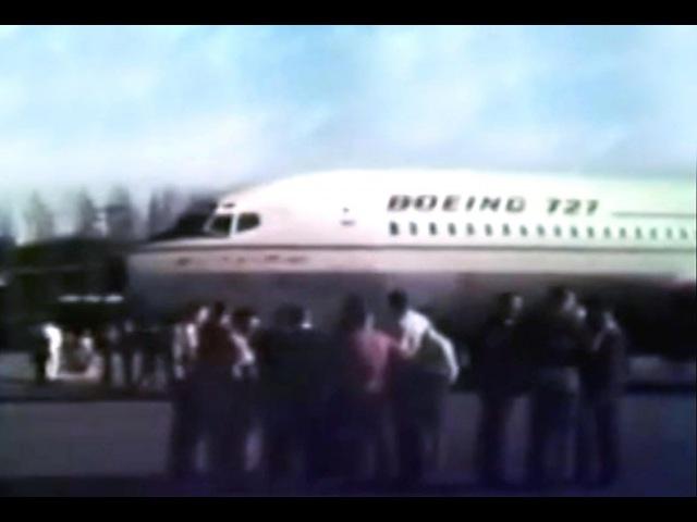 Boeing 727-100 (First Flights: USA, 1963).