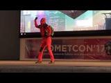 Concurso Dance Arena Cometcon17 Evolution of Dance by Deadpool