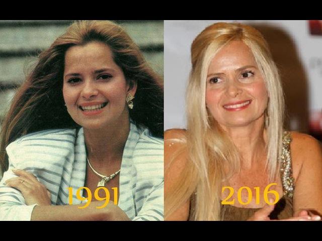 Актрисы латиноамериканских сериалов тогда и сейчас