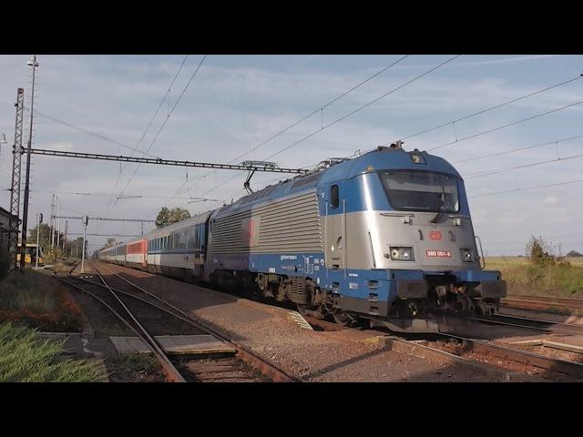 ČD 380.001 - EC 173 PORTA BOHEMICA - Sekule (SK) - 24.8.2015