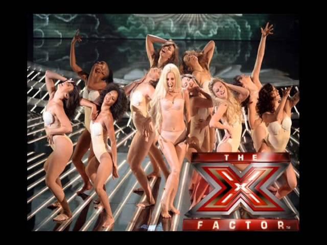 Lady Gaga Venus Do What U Want The X Factor UK (Studio Version)