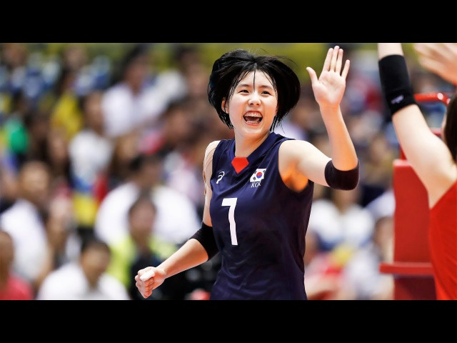 Top 15 Crazy Actions by Lee Jaeyeong | Korean Volleyball | Womens Volleyball Actions