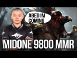 9.8k MidOne - Soon 2nd 10.000MMR Player in the World Dota 2