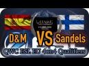 D M vs Sandels | Quake Champions 4on4 QWC Qualifiers EU | FOV SombrA