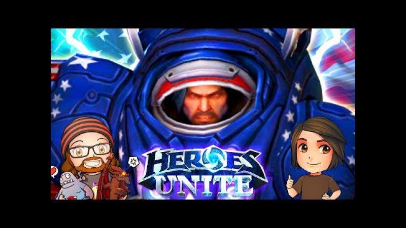 Heroes Unite: 'Merica | Heroes of the Storm | MFPallytime, Dan Cybert Trikslyr