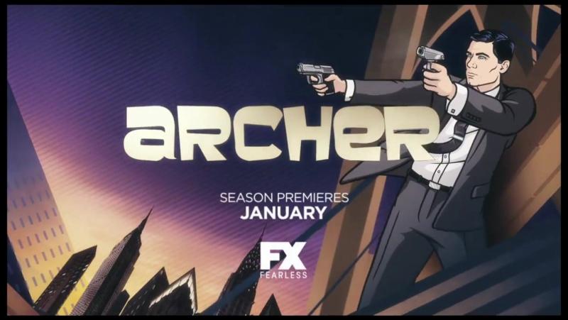 Трейлер - Арчер/Archer Vice 6s)