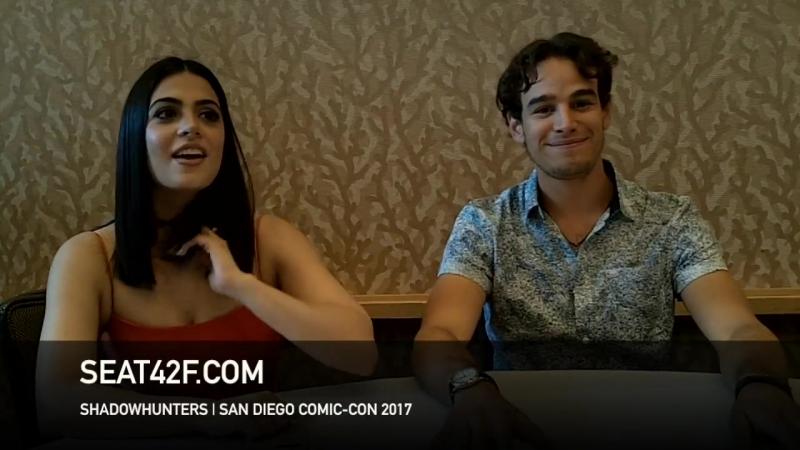 2017 › Интервью Эмерод и Альберто Розенде для «Seat42F» в рамках фестиваля «Comic Con» в Сан-Диего › 20 июля