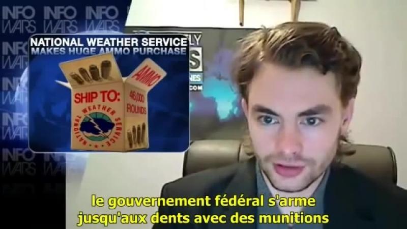 Chaîne YT - Alex Jones - Infowars - En Français (VOSTFR) - 19.Infowars - Achats Massifs de Munitions des USA - 15 Aout 2012
