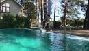 Нырнуть в холодный бассейн после zumba)) легко.