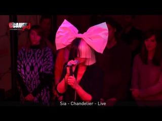 Sia - Chandelier (Live C'Cauet sur NRJ)