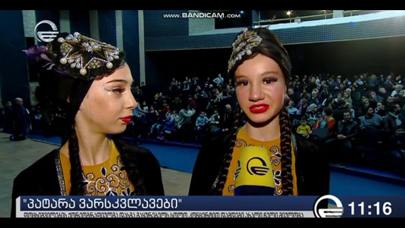 IMEDI TV - LITTLE⭐STARS♚ The Children's NationalBallet Potskhishvili.
